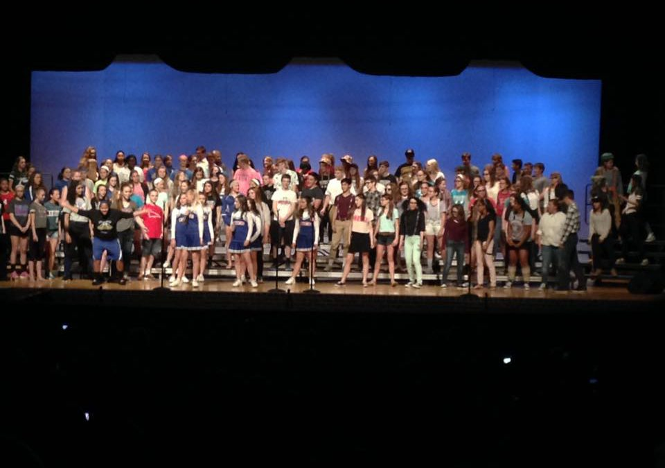 Bunsold Middle School Choir Concert!