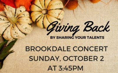 Brookdale concert and please remember to practice!